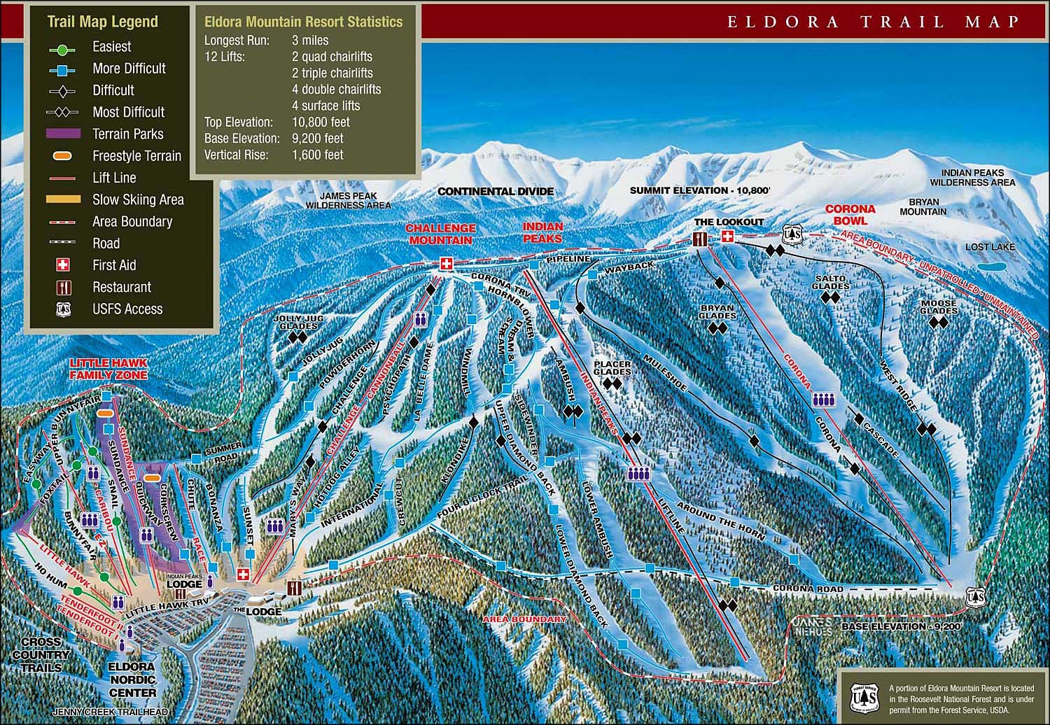 Eldora Mountain Base Area