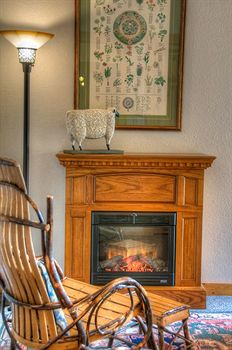 wild horse inn fireplace