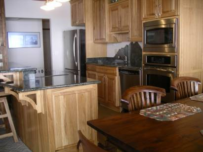 crested butte ski condo kitchen