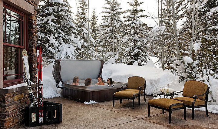 choke cherry cottage hot tub