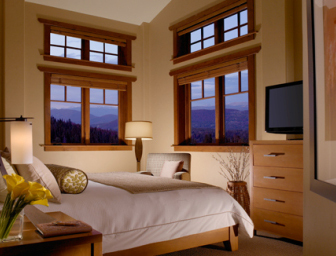 one ski hill guest room
