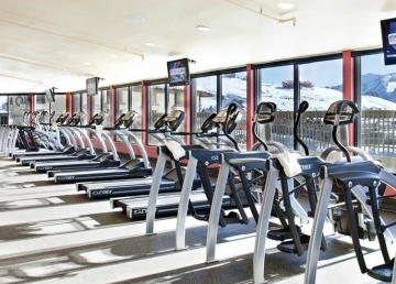 elevation hotel fitness equipment