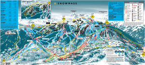 small snowmass trail map