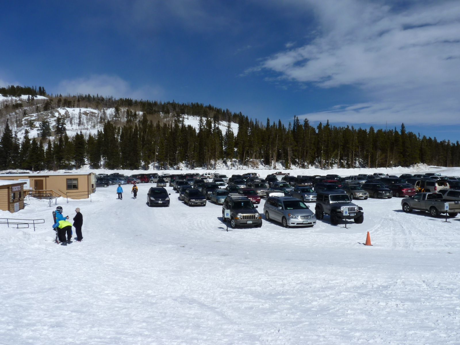 Eldora Lower Parking Lot