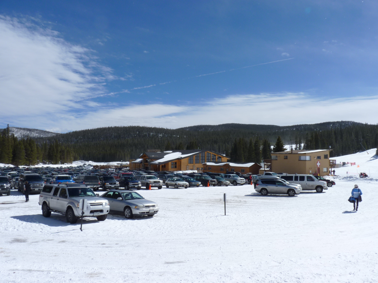 Eldora Upper Parking Lot