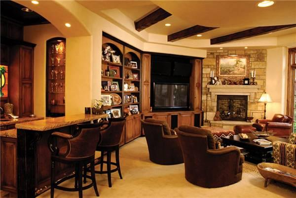 castle pines living room