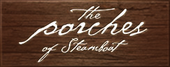the porches steamboat logo