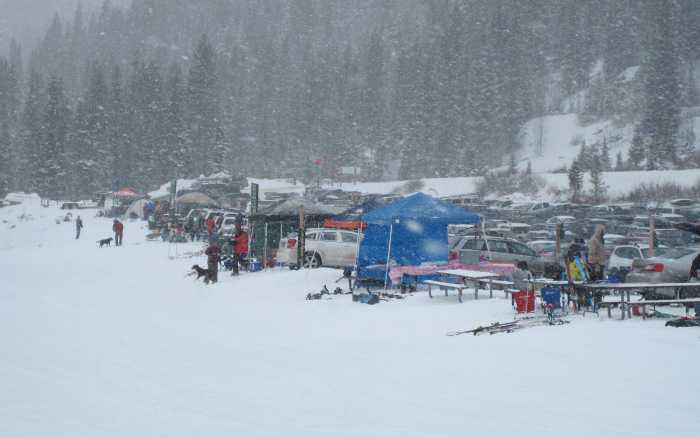arapahoe basin beach parking