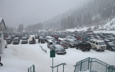 arapahoe basin parking