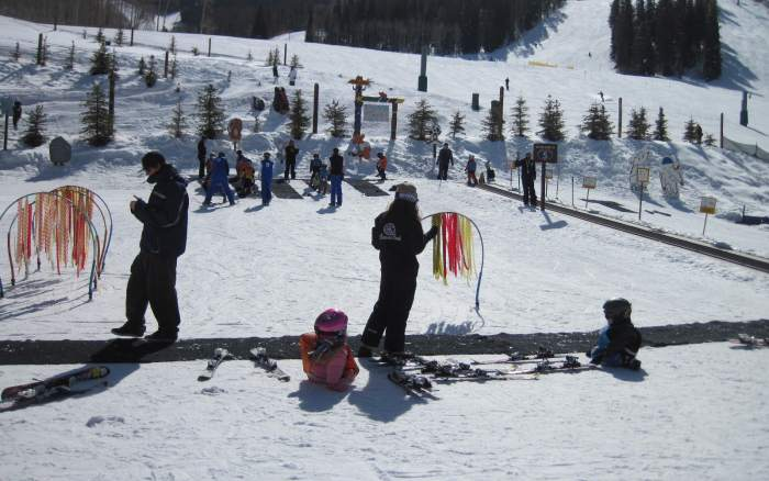 ski slopes for kids