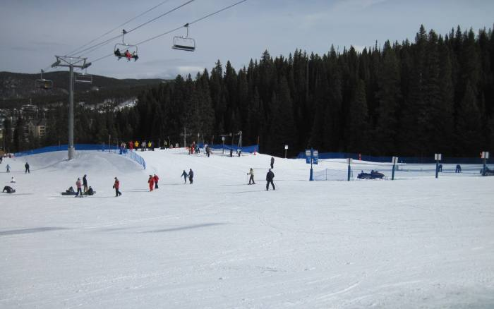 Breckenridge beginner skiing