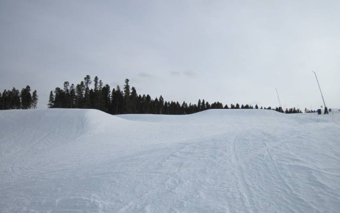 Breckenridge easy ski trails