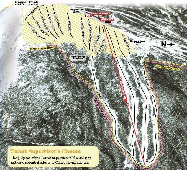 Copper Mountain Trail Map