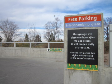 denver zoo parking