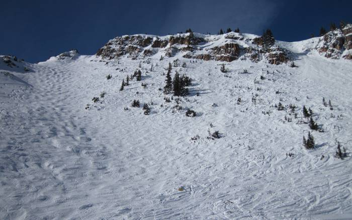 snowmass cirque KT gully