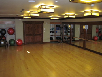 lodge at vail exercise room