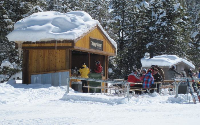 vail mountain hot dog stand