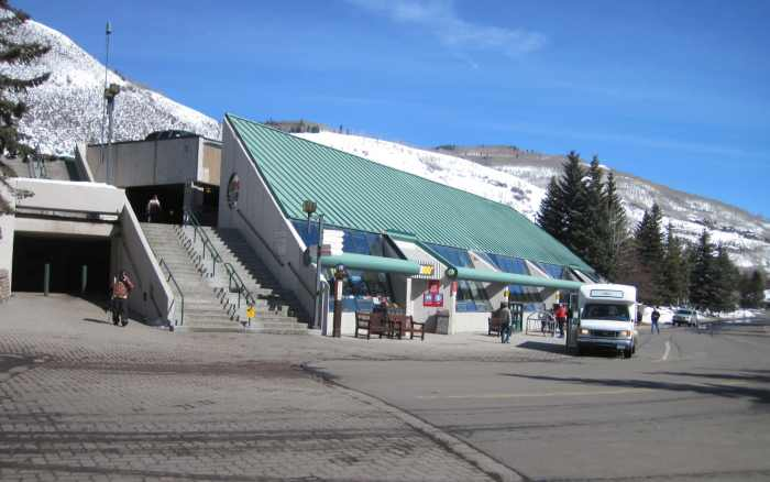 vail winter parking garage