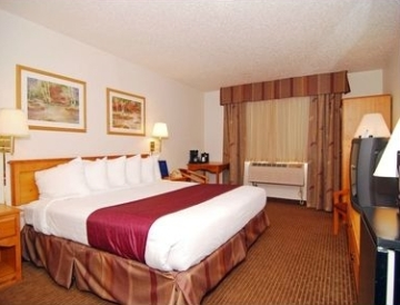 best western guest room