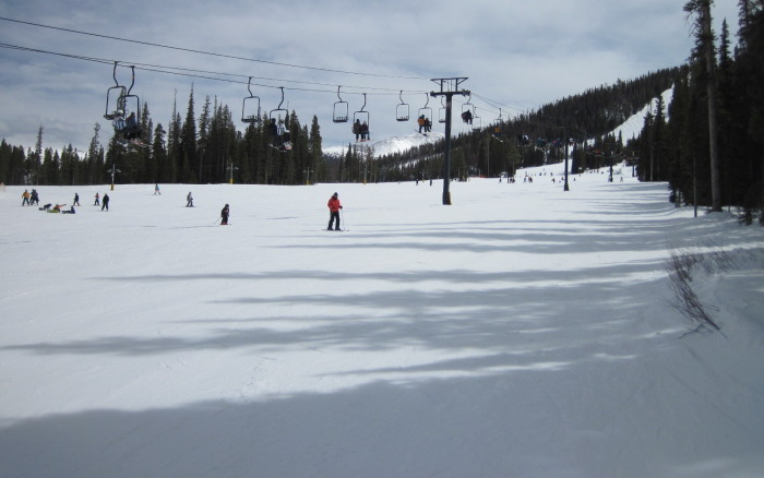 winter park easy ski trails
