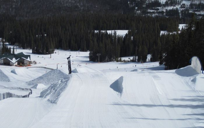 advanced expert terrain park